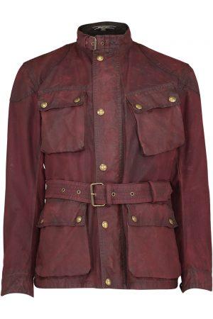 Belstaff Men's Trialmaster 1969 Sammy Miller Jacket Red