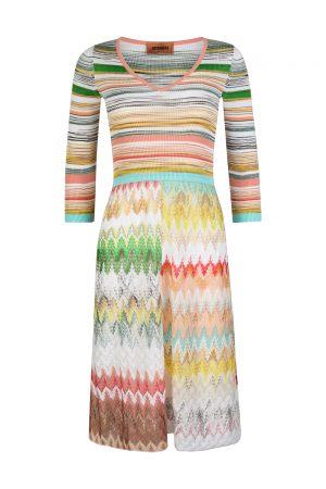 Missoni Women's Combo Patterned Dress Multicoloured