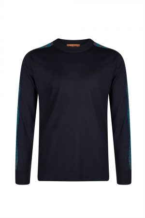 Missoni Men's Crew Neck Knitted Top Black