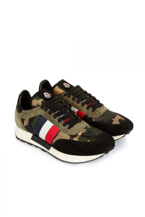 Moncler Horace Men's Sneakers Camouflage