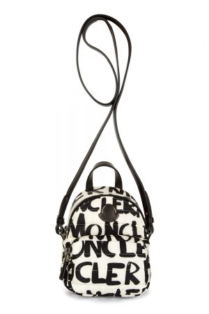 Moncler Kilia Women's Logo Shoulder Bag White