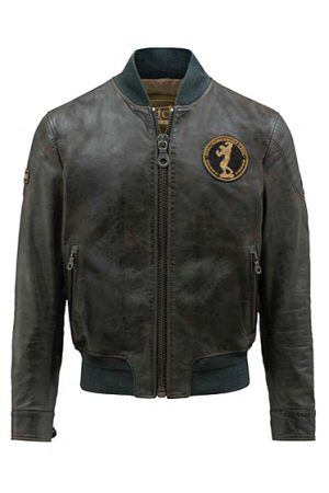 Matchless Limited Edition Men's Iron Bomber Antique Black