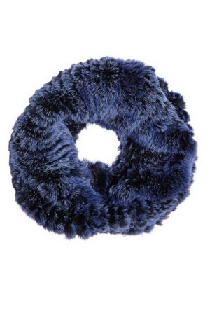Mila Furs Zahara Ladies Snood Blue