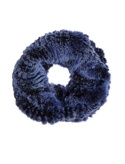 Mila Furs Zahara Ladies Snood Blue