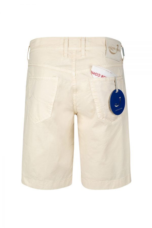 Jacob Cohën Men's Cotton-blend Chino Shorts Beige