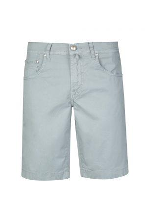 Jacob Cohën Men's Stretch Cotton Shorts Blue