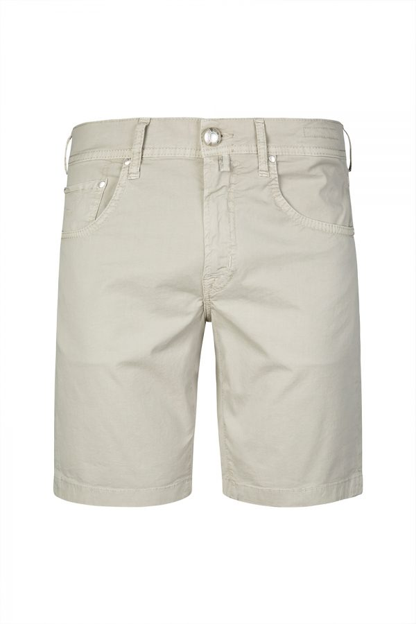 Jacob Cohën Men's Cotton Bermuda Shorts Light Grey