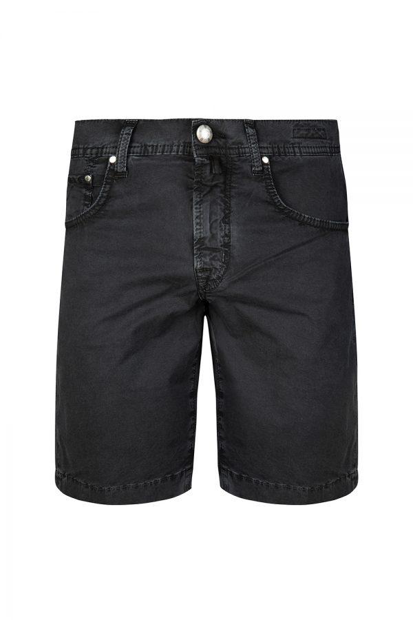 Jacob Cohën Men's Vintage Washed Chino Shorts Black