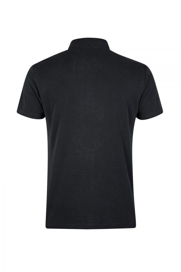 Sand Men's Pinstripe Polo Shirt Grey