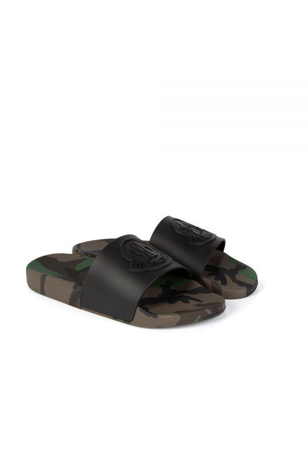Moncler Basile Men's Sandals Camouflage