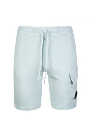 P. Company Men's Cotton Jersey Shorts Blue
