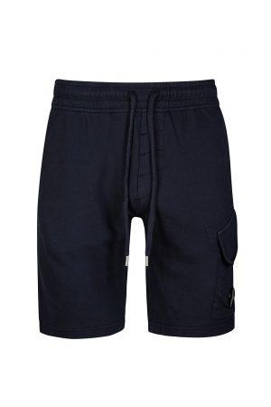 C.P. Company Men's Cotton Track Shorts Navy
