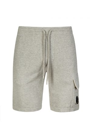 C.P. Company Men's Light Fleece Track Shorts Grey