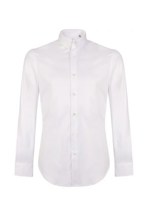 Pal Zileri Men's Classic Cotton Shirt White