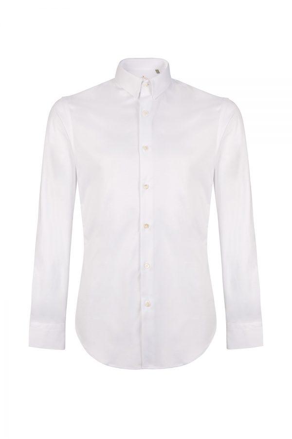 Pal Zileri Men's Classic Cotton Shirt White