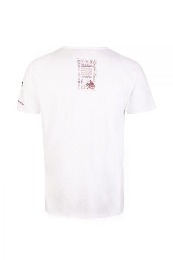 Matchless Hawk Men's Short-sleeved T-shirt White