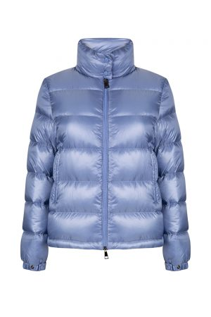 Moncler Copenhague Women's Short Down Jacket Blue