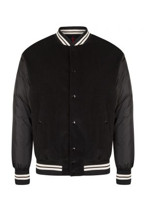 Moncler Exmoor Men's Varsity Jacket Black