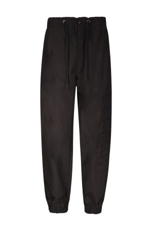 Moncler Men's Logo Print Track Pants Black