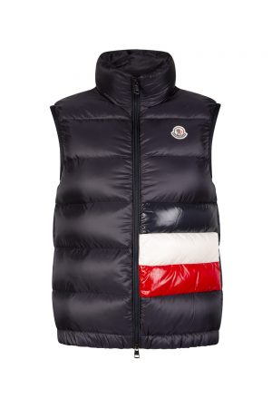 Moncler Sovex Men's Down Vest Navy