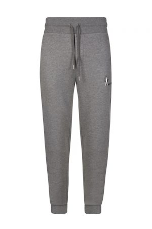 Moncler Men's Logo Motif Sweat Pants Grey