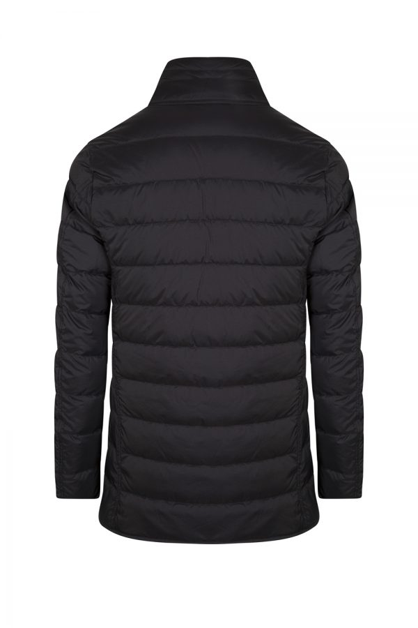 Herno Men's Single-breasted Down Jacket Navy