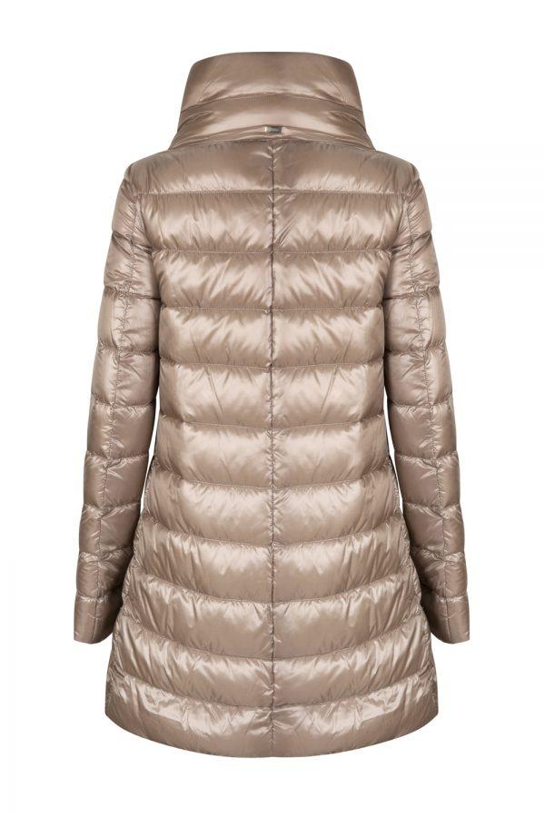 Herno Women's Amelia High Neck Down Coat Brown