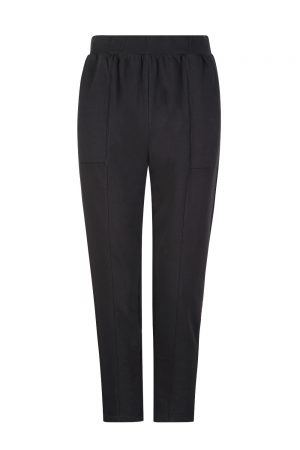 Velvet Zane Women's Vintage Fleece Pants Black