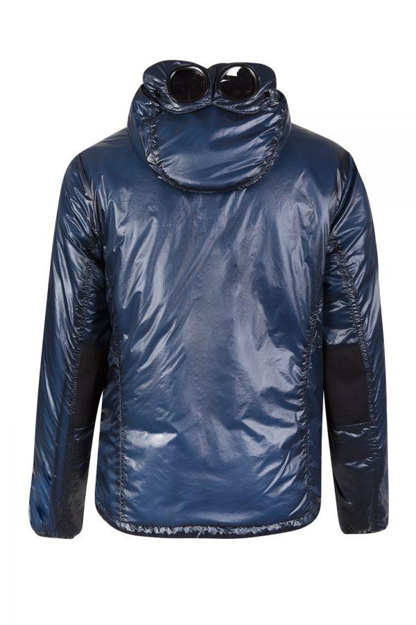 C.P. Company Men's Goggle Hood Padded Jacket Blue