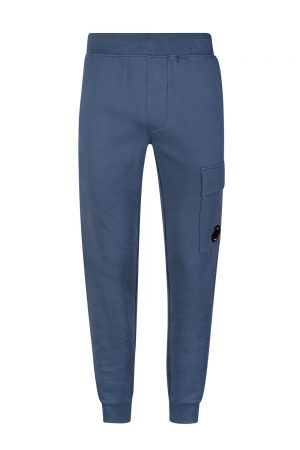 C.P. Company Men's Lens Pocket Sweatpants Blue
