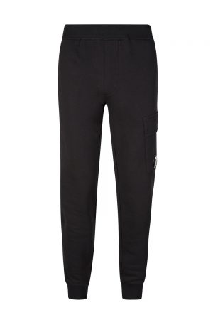 C.P. Company Men's Lens Pocket Jogging Bottoms Black