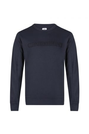 C.P. Company Men's Logo Embellished Sweatshirt Navy