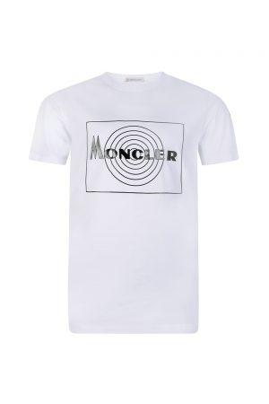 23. Moncler Men's Graphic Print T-shirt White