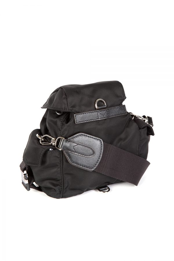 Moncler Mini Dauphine Women's 2-way Backpack Black