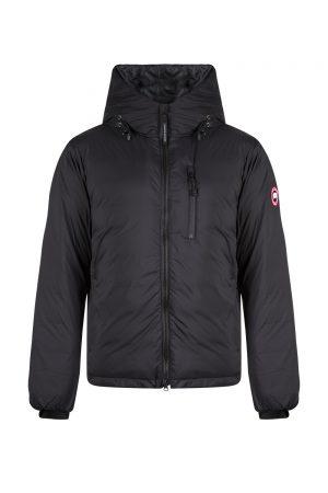Canada Goose Lodge Hoody Matte Finish Men's Jacket Black