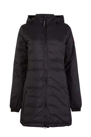 Canada Goose Camp Women's Hooded Coat Black