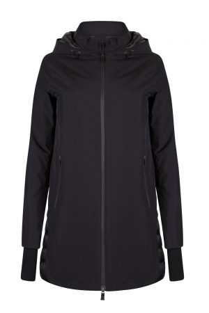 Herno Women's Laminar Gore-tex Down Coat Black