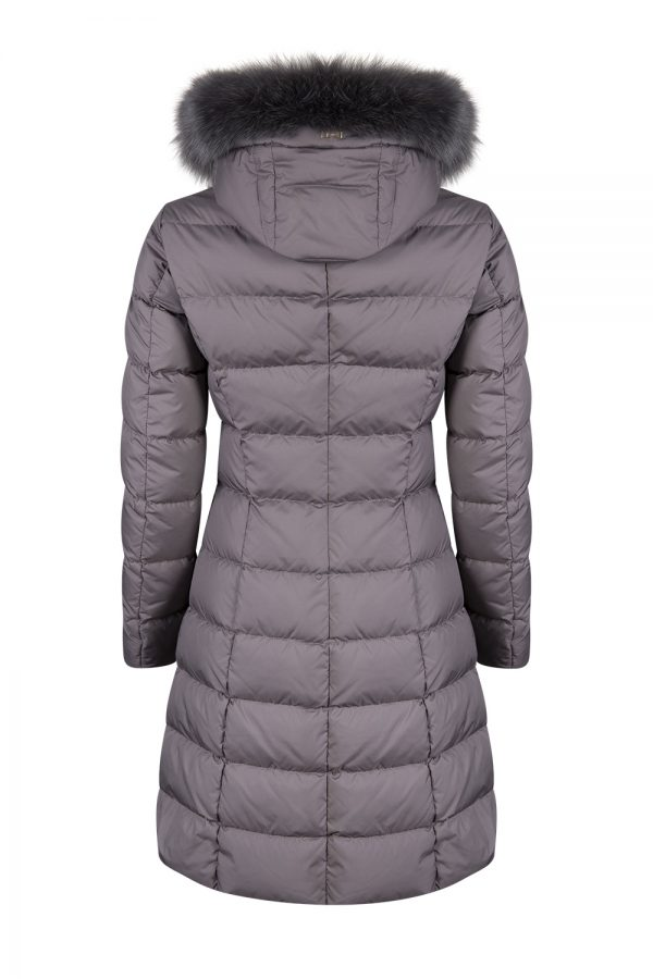 Herno Women's Polartech Puffer Coat Grey