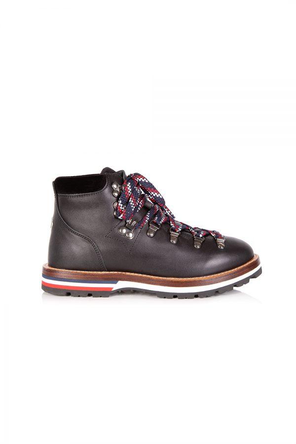 Moncler Blanche Women's Mountain Boots Black