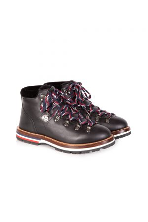 Moncler Blanche Women's Mountain Boots Black