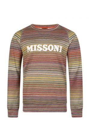 Missoni Men's Logo Sweater Multicoloured