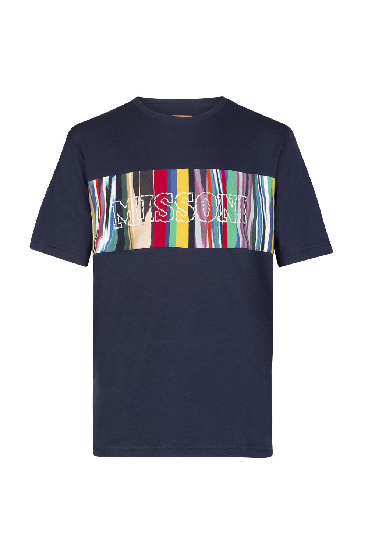 Missoni Mens Printed Jersey T-Shirt