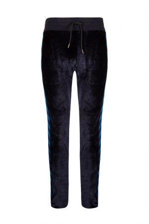 Missoni Men's Velour Trousers Navy