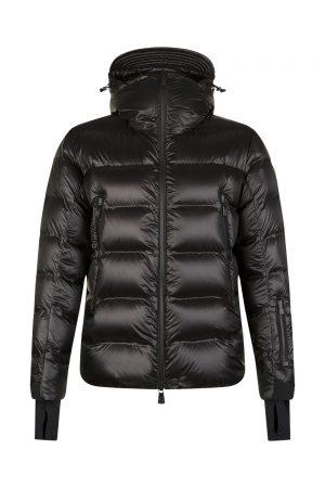 Moncler Sestriertech Men's Hooded Down Jacket Black