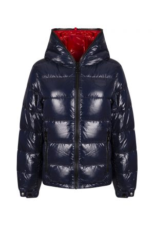 Duvetica Kuma Ladies Down Jacket Navy