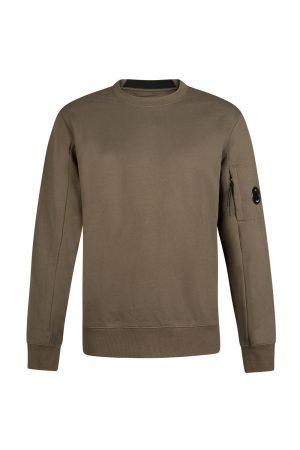 C.P. Company Men's Goggle Lens Sweatshirt Olive