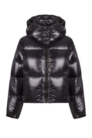 Duvetica Diadema Ladies Down Jacket Black