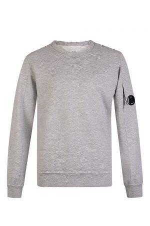 C.P. Company Men's Goggle Lens Sweatshirt Grey