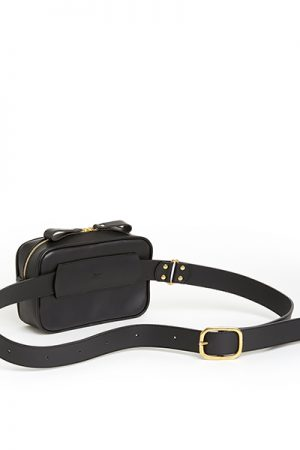 (ki:ts) Waist Bag Hard Black S