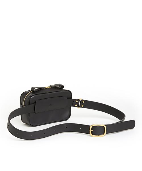 (ki:ts) Waist Bag Hard Black S
